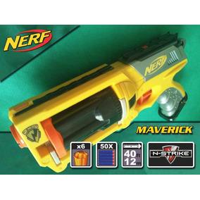 Nerf Maverick + 50 Dardos