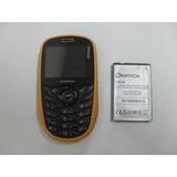 Celular Pantech P1010 Telcel Amarillo Java Touch Radio Fm