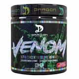 Pre Treino Venom Dragon Pharma Com Dhma + Pronta Entrega!