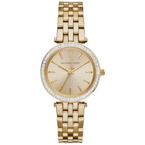 c0558373e6b09 Relógio Michael Kors Darci Dourado Analógico Feminino Mk3365. R  999