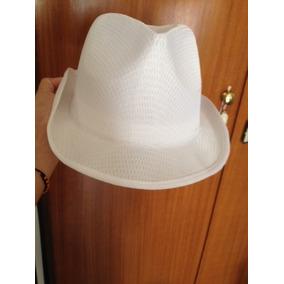 Sombrero Tipo Borsalino Blanco Totalmente Nuevo 11f8a4ee896