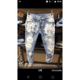 Calça Jeans Masculina Marca Famosa Importada Pronta Entrega