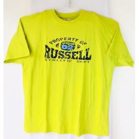 19335ae7a66cc Playera Manga Corta Russell Casual Extras Camisetas 2xl 3xl