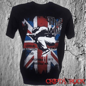 Camiseta Bandas Camisa Rock The Who b28b523f69f