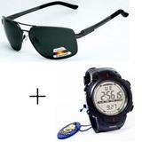 8ab01274c60ad Relógio Digital Atlantis + Óculos De Sol Polarizado 2046cv