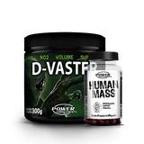 Pró Hormonal Human Mass + Pré Treino D-vaster - Promoção!
