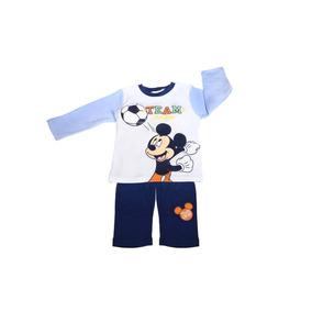 Conjunto Playera Pantalon Estampado Mickey Bb Ideal