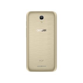 Capa De Protecao Dourada Para Smartphone Pop4 5