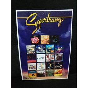 Poster Supertramp Discografia Supertramp Quadro Supertramp