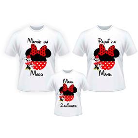 77b481431aa2a Camisetas Moana Familia - Brinquedos e Hobbies no Mercado Livre Brasil