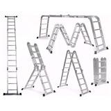 Escalera Multifunción Aluminio 3.5 M Incluye Iva