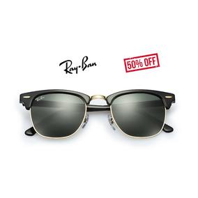 95850a48757c4 Oculos Rayban Clubmaster Espelhado Preto De Sol Ray Ban - Óculos no ...