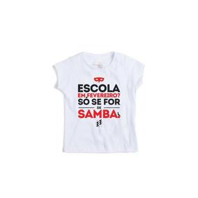 121d90c826176 Camiseta Branca Escolar - Camisetas Manga Curta no Mercado Livre Brasil