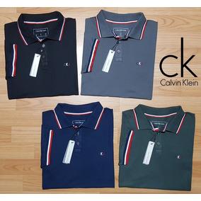Kit 2 Camisas Polo Masculina + 2 Camisetas Básicas Algodão 3a7f867e6862e
