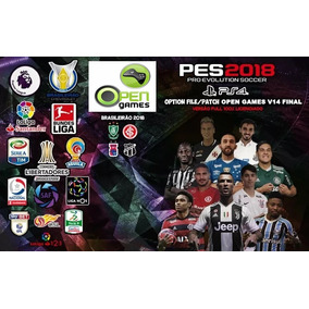 Patch / Option File Pes 18 V14 Ps4 World Cup + Europa 2018