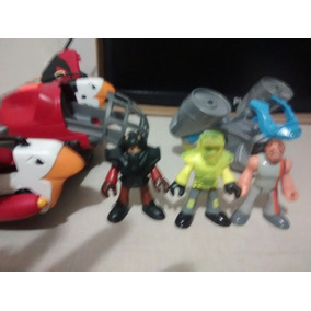 Lote Naves E Bonecos Imaginext Fisher Price
