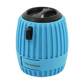 Caixa De Som Portátil Mini Roadstar Azul Mini-az
