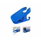 Blue Clip On Reversible Beverage , Clip Para Bebidas
