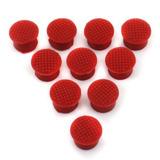 10pcs Pack Nuevo Trackpoint Rojo Tapa Domo Suave Para E-9595