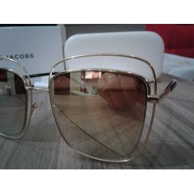 Óculos De Sol Calvin Klein R135 S Gold - Óculos no Mercado Livre Brasil fc569385e9