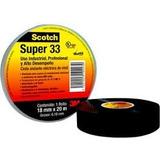 10 Cintas De Aislar Scoth 3m Super 33 (18mm X 20 M)