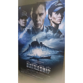 Lona Banner Cine Original - Battleship - Rihanna