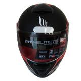 Mt Helmets Avanti Vermelho Fosco