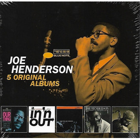 Box 5 Cd Joe Henderson 5 Original Albums - Importado