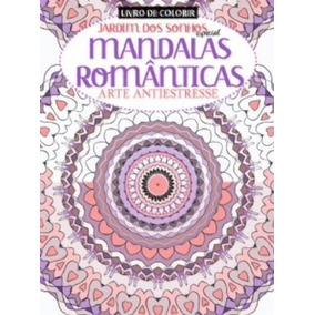 Livro De Colorir - Mandalas Romanticas - Nº01
