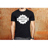 50e12f1800 Camiseta Kaiser Chiefs Camisa Blusa Preta Banda Rock R6