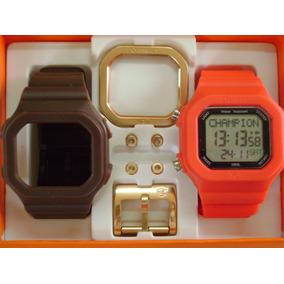 03c206ac342 Relogio Champion Yot Marrom E Preto - Relógios no Mercado Livre Brasil