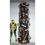 Maqueta Diorama Columna Mortal Kombat Hueso Resina Scorpions