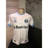 Camisa Gremio Branca Game Brasileirão 2018  10 Douglas a0751107ced91
