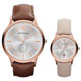 5e71b07101e Reloj Armani Pareja Clásico Ar9108 A Pedido 12 Cuotas