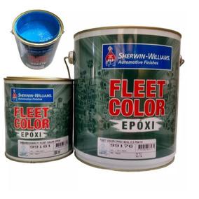Tinta Epóxi Para Piscina Pinta E Impermeabiliza Azul 3,6l