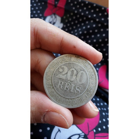 Moeda 200 Réis 1889