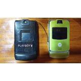 Celular Motorola V3 Para Repuestos Se Vende Tal Cual Se Ve