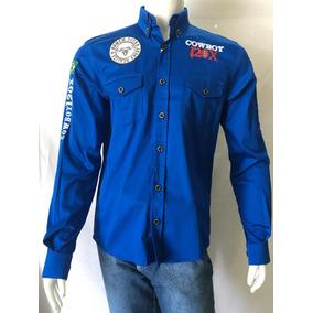 Cowboy 120x - Camisas no Mercado Livre Brasil 63ed076d9c1