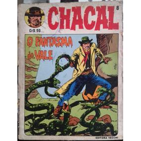 Revista Em Quadrinhos Chacal Nº8 1981