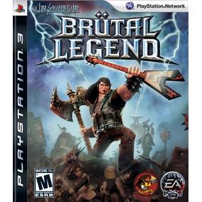 Brutal Legend - Novo Lacrado Ps3 Mídia Física