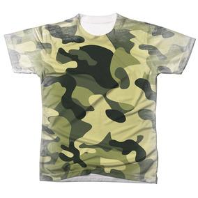Camiseta Camuflada Personalizada - Camisetas Manga Curta para ... 2e3ff0aaf58