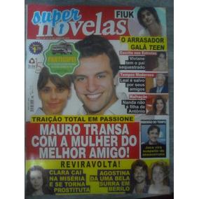 Super Novelas: Ed. 15. 07/06/10. Poster Cauã Reymond
