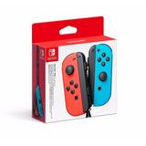 Nintendo Switch Juego De Mandos Joy-con Neon Red / Blue