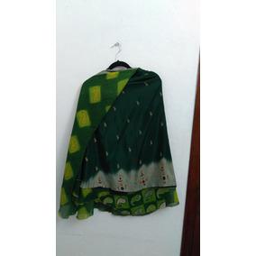 Falda Vestido Étnica Hindú Unitalla Doble Capa #583