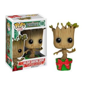 Boneco Funko Pop Guardiões Da Galaxia - Groot