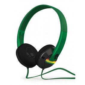 Headphone Skullcandy Uprock Supreme Sound Plug Ouro - Verde
