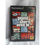 Grand Theft Auto Iii - Excelente Estado - Ps2