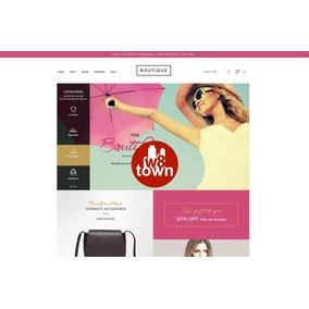 Tema Template Loja Virtual Wordpress Woocommerce Boutique