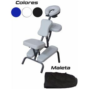Silla Masaje Portatil Shiatsu Camilla Maleta Tattoo