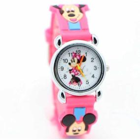 Relógio Infantil Thomas Ou Mickey